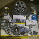 KIT AMBREIAJ DUBLU USCAT LUK cutie DSG 7+1 VW POLO 6R 1.6 TDI 90CP pana in 06.2011