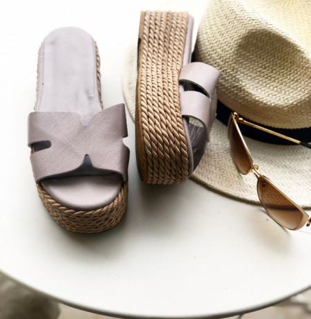 Papuci Premium Piele Naturala June