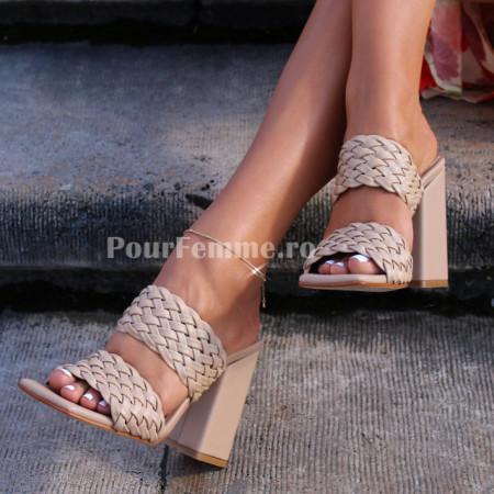 Sandale cu toc Karla Premium Collection (+ culori)