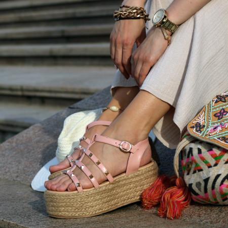 Sandale cu platforma Premium Anaiss
