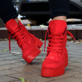 Ghete All Red / Black