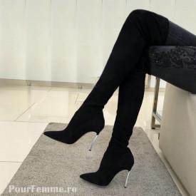 Cizme Premium Tall Black