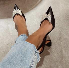 Pantofi Ami Butterfly Black