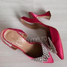 Pantofi Premium Ami Butterfly Pink