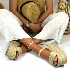 Sandale cu platforma Jessy