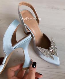 Pantofi Premium Ami Butterfly Blue