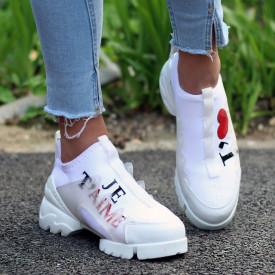 "Pantofi Sport ""Je T'aime "" (+ culori )"