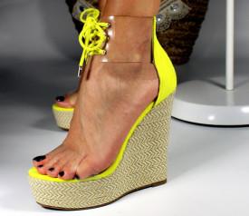 Sandale cu platforma Faruco
