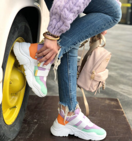 Sneakersi Premium Multicolor
