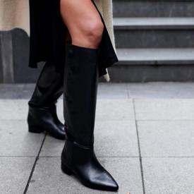 Cizme Premium Kaily Tall Leather