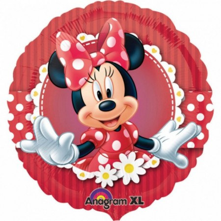Balon folie metalizata, 45 cm, Minnie Flowers