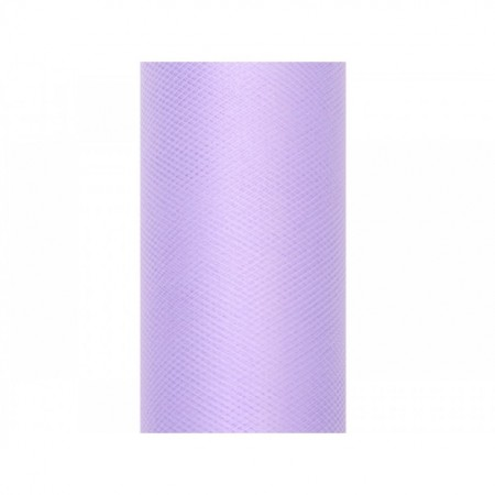 Tulle lila, 0,3 x 9m