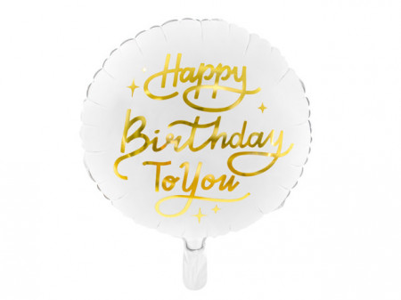 Balon-folie-Happy-Birthday-To-You-35cm