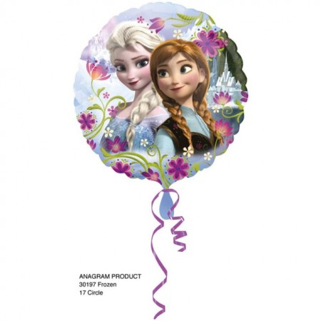 Balon folie metalizata, 43cm, Frozen