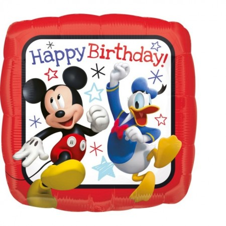 Balon folie ''Mickey Roadster Racers HBD''