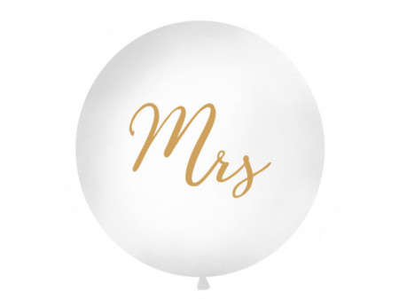 Balon-jumbo-1m-alb-inscriptionat-Mrs