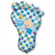 Balon folie figurina, talpa, It's a Boy!