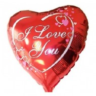 Balon folie inima ''I love you'' - 45cm