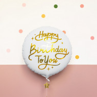 Balon-folie-Happy-Birthday-To-You-alb-35cm