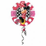 Balon folie metalizata, 43cm, Minnie Portrait