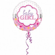 Balon folie 43cm Baby Girl