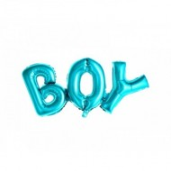 Balon folie Boy, bleu