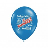 Baloane 30cm '' Happy Birthday '', 5 buc / set