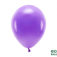 Baloane latex, Eco Balloons, Mov, 26cm, 100buc