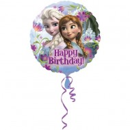 Balon folie metalizata, 43cm, Frozen Happy Birthday
