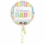 Balon folie metalizata, 43cm, Welcome BABY