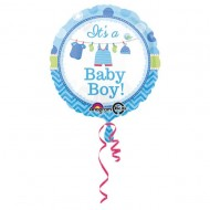Balon folie metalizata, 43cm, It's a Baby Boy!