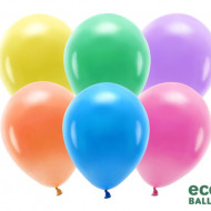 Baloane latex, Eco Balloons, Multicolor, 26cm, 100buc