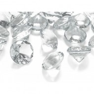 Cristale diamant, Transparent, 5 buc