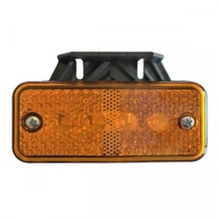 Poze Lampa laterala cu led portocalie 24V