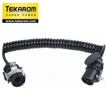 Cablu electric spiralat EBS 7P 4.5m