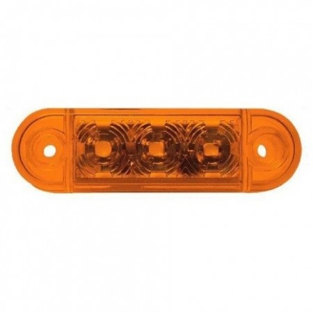 Poze Lampa pozitie ovala portocalie 3 leduri