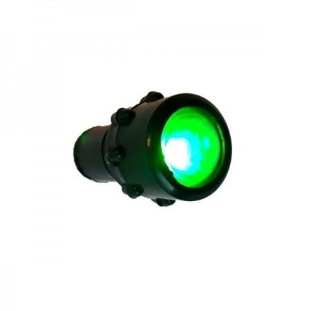 Lampa avertizare bord verde