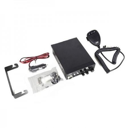 Kit Statie radio CB PNI ESCORT HP 8000L ASQ + Antena CB PNI Extra 48 cu magnet