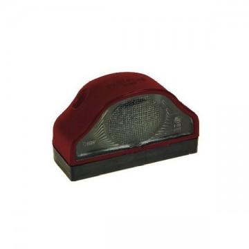 Poze Lampa pentru placuta de inmatriculare cu bec