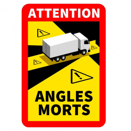 "Autocolant ""Angles morts"""