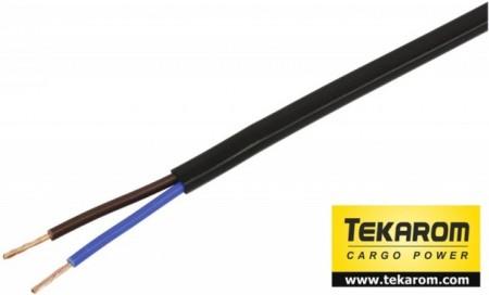 Cablu electric plat 2x0.75 mmp
