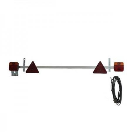 Poze Set 2 lampi remorca led cu cablu si suport extensibil 12v