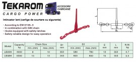 CLICHET - lant 10 mm - 6,3 tone