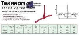 CLICHET - lant 8 mm - 4 tone