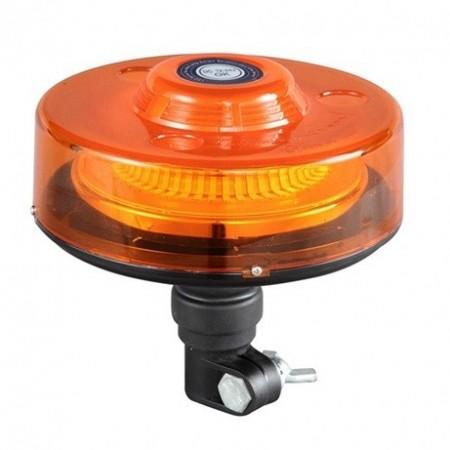 Poze Girofar auto cu efect de rotatie 12V/24V orange cu 40 LED-uri si suport tubular