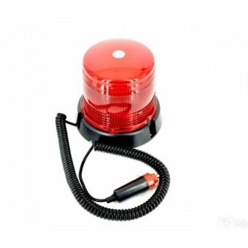Poze Girofar rosu stroboscopic 12V / 24V rosu LED