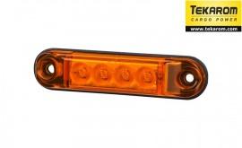 Poze Lampa pozitie ovala portocalie