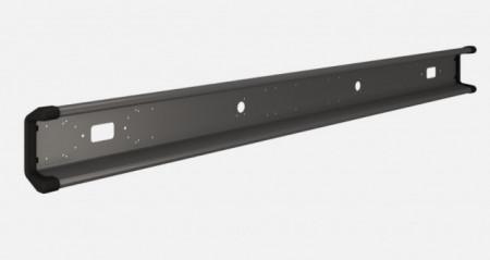 Bara metal cu capete de plastic 2000mm