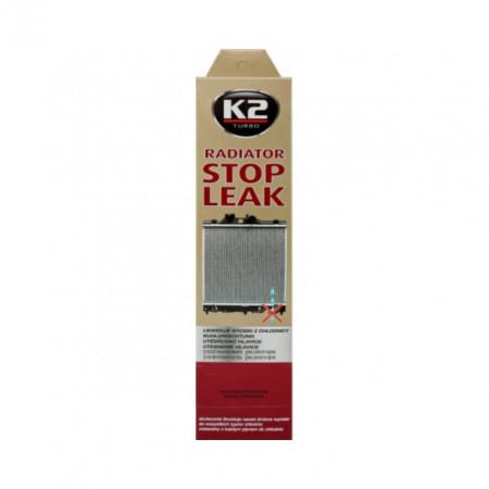 Praf radiator Stop Leak pentru stoparea scurgerilor din radiator
