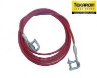 Cablu tractare otel 2T 4M